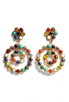 Flower Earrings by Sylvia Toledano Got to have