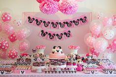 decoracion de la minnie rosa - Buscar con Google