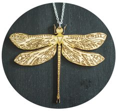 Image of Dragonfly necklace Dragonfly Necklace, Necklaces, Image, Jewelry, Jewlery, Bijoux, Chain, Schmuck, Jewerly