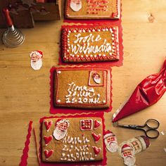 Lebkuchenbäcker war einst ein angesehener Beruf in Süddeutschland. Heute kriegt man das prima selbst hin. Und weil der Teig gut formbar ist, machen wir Lebkuchen-Briefe daraus. Da freuen sich die Empfänger! Zum Rezept: Lebkuchen-Briefe