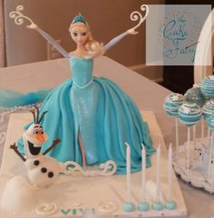Cake Central - Newest Cakes Frozen Doll Cake, Elsa Doll Cake, Frozen Dolls, Frozen 3rd Birthday, Doll Birthday Cake, Girl Birthday, Birthday Parties, Elsa Cakes, Barbie Cake