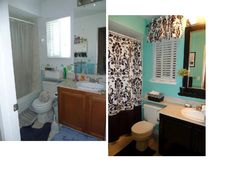 Teen Bathroom...before U0026 After... I Kind Of Love This