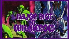 Evil Heroes got new support in 2019 & that includes Evil Hero Malicious Bane! He cannot be destroyed by battle or card effects, but has a Raigeki type effect. Youtube Banners, Face Down, Creatures, Neon Signs, Videos