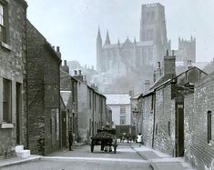 Court Lane, early Gilesgate Archive c/o Michael Richardson. Durham England, North East England, Durham Police, Durham City, St Johns College, Durham Cathedral, Sea And Ocean, Most Beautiful Cities, Historical Pictures