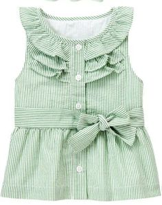 Mint Ruffle Toddler Top by Janie & Jack
