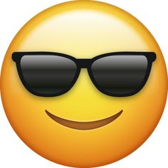 Sunglasses Emoji [Free Download Cool Emoji] | Cool emoji, Ios ...
