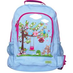 Kids Large Canvas Backpack - Woodland This high-quality Woodland Backpack is the perfect accessory for little girls who have just started school. Made from durable, scotch guarded canvas, it includes adjustable and padded straps for comfort a Bobble Art, Girls Rucksack, Toddler Bag, Kids Canvas, Large Canvas, Kids Luggage, Girl Backpacks, School Backpacks, Kids Swimming