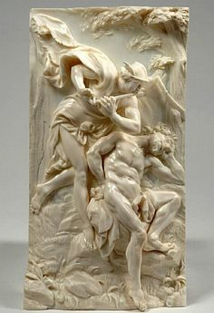 Carved ivory by Balthasar Permorser,1651-1732 Dresden  Bayaiches Nationalmuseum