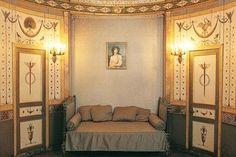 petit Hotel de Bourdienne, Boiseries peintes, décor à l'antique