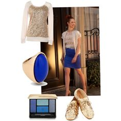 """""""Pencil skirt Tubino, Royal Blue"""" by sel-duin on Polyvore"""