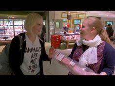 Puls 180: Metzgerin trifft PETA-Aktivistin und Tierschützerin - YouTube