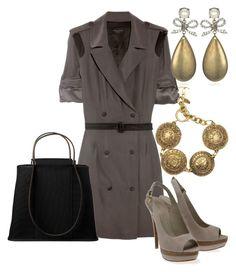 Estilo Formal by outfits-de-moda2 on Polyvore featuring moda, rag & bone, Elie Saab, Hermès, Chanel and Gerard Yosca