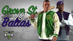 Grove street vs Ballas | Rockstar Editor