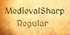 MedievalSharp Font · 1001 Fonts