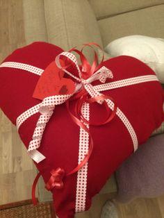 Cojín para el día de san Valentín