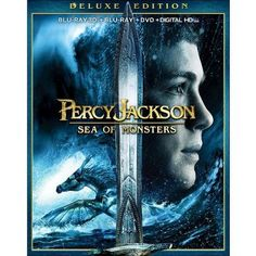 Percy Jackson: Sea of Monsters [3 Discs] [Includes Digital Copy] [UltraViolet] [3D] [Blu-ray/DVD]