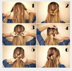Strik maken in je haar