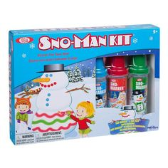 Ideal Sno-Man Kit, Multicolor