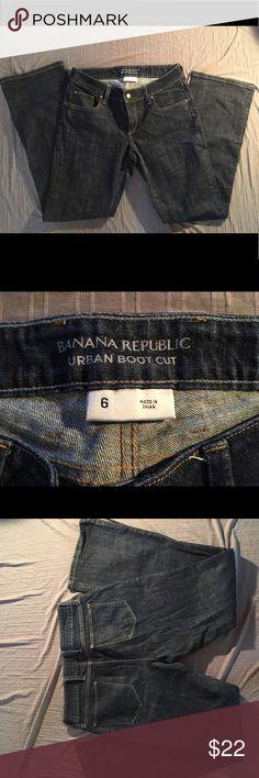 Banana republic Denim jeans size 6 Urban Bootcut Banana republic Denim jeans size 6 Urban Bootcut Banana Republic Jeans Boot Cut
