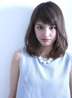 【ミディアム】ナチュラル さらっと ミディアム/BEAUTRIUM 神戸の髪型・ヘアスタイル・ヘアカタログ|2016春夏