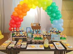 Noah's Ark Dessert table