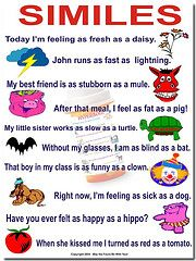 Hyperbole Cafe is a fun poem for teaching kids about using ...