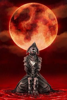 Blood moon- Bloodborne