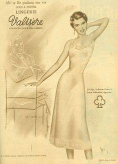 Iba Mendes: Anúncios antigos de lingerie: VALISÈRE - II