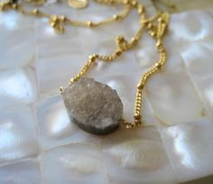 Gray Pebble by amitiedesigns on Etsy, $42.50