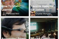 """Aug 30, 2012 - 8:42AM PT ~ Learnist – a 'Pinterest for Education' – releases apps for iPhone,iPad • """"Learnist – a Pinterest-like social learning platform from ed-tech company Grockit, launched in May to let teachers and students of all kinds can create 'learn boards' for everything from 8th grade English standards to data visualization to punk music. On Thursday, the company is announcing that it is rolling out apps for the iPhone and iPad."""" • by Ki Mae Heussner"""