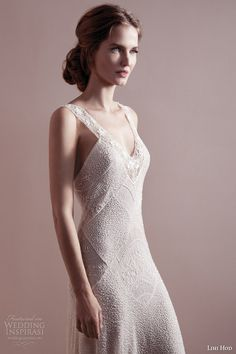 lihi hod wedding dresses spring 2013 bridal gown with straps close up