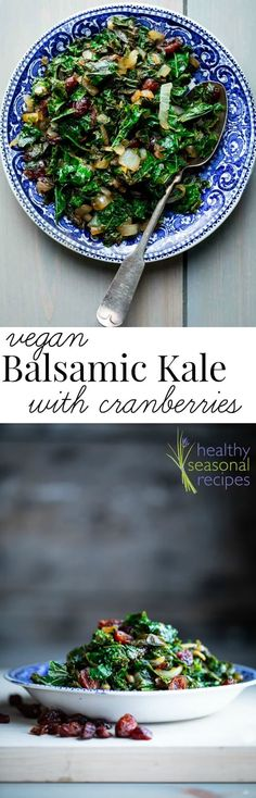 Here's a simple clean-eating side dish recipe to try this month: Sautéed Kale with Balsamic and Dried Cranberries {Paleo and Vegan}. Side Dishes Easy, Side Dish Recipes, Vegetable Recipes, Vegetarian Recipes, Spicy Fried Chicken, Baked Chicken, Healthy Chicken, Paleo Vegan, Roast Beef Sliders