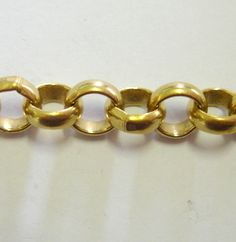 Chains :: Chains, handmade, fancy :: BOKS, Raw Brass Belcher Chain 9.5mm, 50 cm - Beading Supplies, Tools for Jewellery Making, Australian Supplier