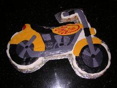Motorcycle Cupcake Cake