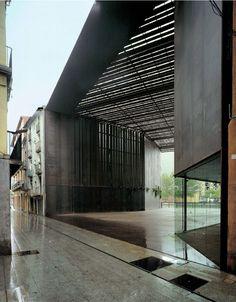 RCR Arquitects - La Lira public passageway, Ripoll