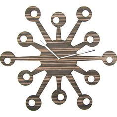Laser-cut Owl Nest Clock | Overstock™ Shopping - Great Deals on Clocks