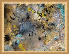 This image is High Quality and gorgeous Art PRINT on Canvas of original SOLD Abstract Painting Heavenly Sparkles by Julia Apostolova. Visit my Art Gallery for my prints and paintings: JULIAAPOSTOLOVA.etsy.com ♥ Print is personally signed and carefully shipped to you in a protective
