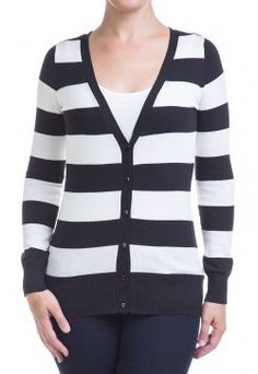 Type 4 Its Black And White Cardigan