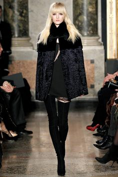 Emilio Pucci Fall/Winter 2013 Ready-to-Wear Collection via Designer Peter Dundas; modeled by unnamed model