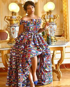 African Inspired Fashion, Latest African Fashion Dresses, African Dresses For Women, Africa Fashion, African Attire, Chitenge Outfits, Trendy Ankara Styles, Africa Style, Warehouse