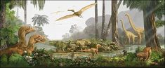 The Cretaceous period had much more dinosaurs species than the Jurassic or Triassic. Description from sites.google.com. I searched for this on bing.com/images