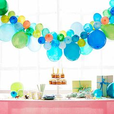 Easy and Simple Balloon Garlands