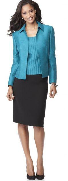 Franci M H&M White Top, Choies Striped Blazer, Zara Blue