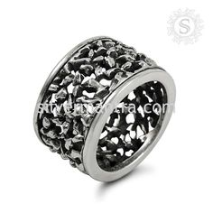 Hot Design Sterling Silver Handmade Ring Jewelry
