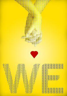'we', art print by Daniel Szabo  on artflakes.com