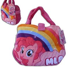 Pinky Pie My Little Pony Pink 11x7x3'' Original Plush Toy HandBag Figure My Little Pony Serie Soft Toy Doll Pet SuperSoft Play by Play http://www.amazon.co.uk/dp/B00MPPM9GQ/ref=cm_sw_r_pi_dp_TP-tvb0SG9KDX