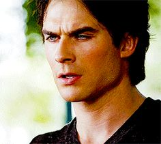 #TVD The Vampire Diaries  Damon, one of my fictional character crushes.. :P