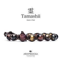 Tamashii - Bracciale Tradizionale Tibetano Occhio Di Tigre