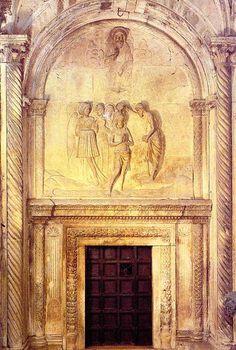 Andrija Aleši, Krštenje