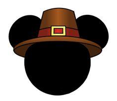 my disney life mickey and minnie pilgrim decorations thanksgiving rh pinterest com